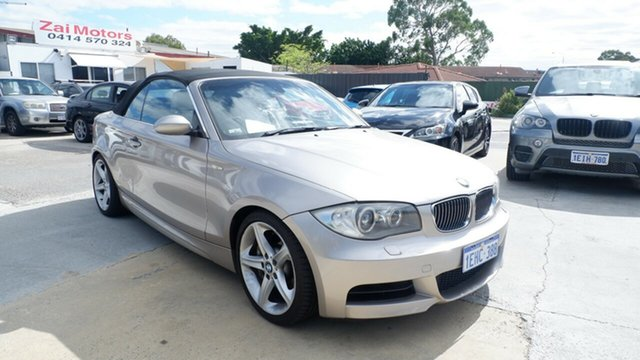 Used BMW 1 Series E88 135i Steptronic St James, 2008 BMW 1 Series E88 135i Steptronic Silver 6 Speed Sports Automatic Convertible