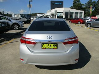 2016 Toyota Corolla ZRE172R Ascent S-CVT Silver 7 Speed Constant Variable Sedan