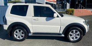 2007 Mitsubishi Pajero NS X White Solid 5 Speed Sports Automatic Hardtop.
