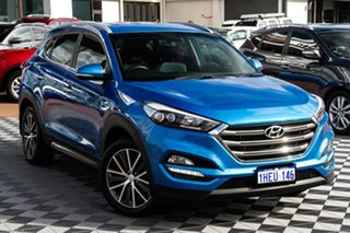 2016 Hyundai Tucson TLE Elite 2WD Blue 6 Speed Sports Automatic Wagon.