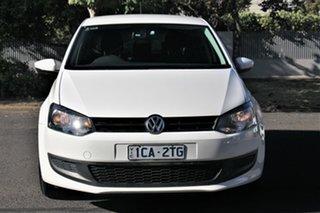 2014 Volkswagen Polo 6R MY14.5 Trendline White 7 Speed Auto Direct Shift Hatchback.