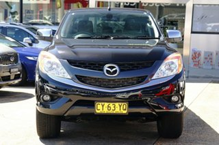 2015 Mazda BT-50 UR0YF1 GT Black 6 Speed Sports Automatic Utility