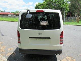 2008 Toyota HiAce KDH201R MY08 LWB White 5 Speed Manual Van.
