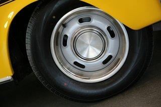 1971 Ford Falcon XY GT Yellow 4 Speed Manual Sedan.