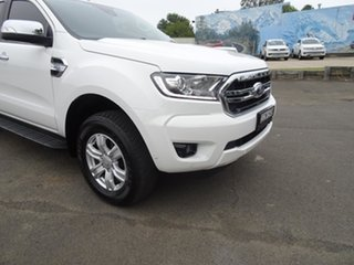 2019 Ford Ranger PX MkIII 2019.75MY XLT Antarctic White 6 Speed Automatic Double Cab Pick Up