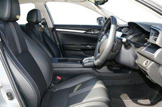 2021 Honda Civic 10th Gen MY20 VTi-LX Lunar Silver 1 Speed Constant Variable Sedan