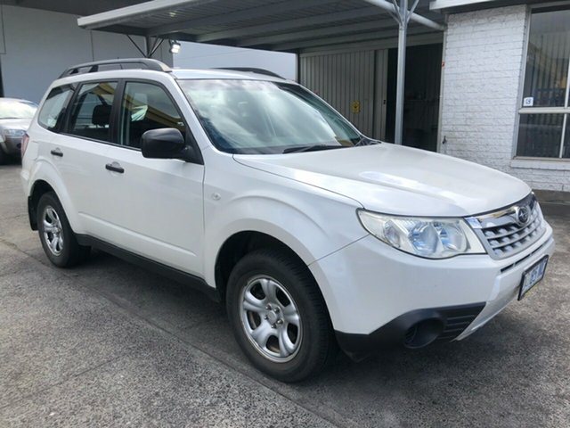 Used Subaru Forester S3 MY11 X AWD Derwent Park, 2011 Subaru Forester S3 MY11 X AWD White 4 Speed Sports Automatic Wagon