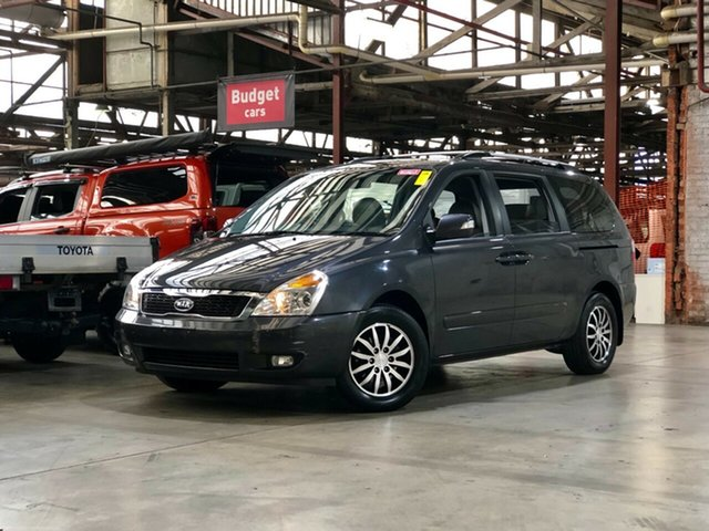 Used Kia Grand Carnival VQ MY12 SLi Mile End South, 2012 Kia Grand Carnival VQ MY12 SLi Grey 6 Speed Sports Automatic Wagon