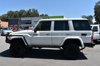 2012 Toyota Landcruiser VDJ76R MY10 Workmate White 5 Speed Manual Wagon