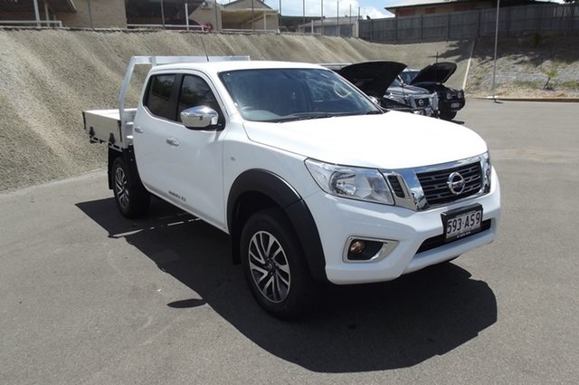 Demo Nissan Navara D23 S4 MY20 RX South Gladstone, 2020 Nissan Navara D23 S4 MY20 RX White 6 Speed Manual Cab Chassis