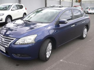 2013 Nissan Pulsar B17 ST-L Blue 6 Speed Manual Sedan