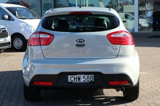 2012 Kia Rio UB MY13 SLS Grey 6 Speed Manual Hatchback