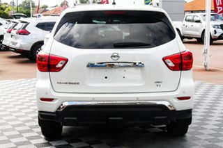 2020 Nissan Pathfinder R52 Series III MY19 Ti X-tronic 4WD Ivory Pearl 1 Speed Constant Variable.