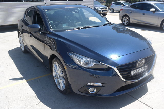 Used Mazda 3 BM5438 SP25 SKYACTIV-Drive Astina Maryville, 2015 Mazda 3 BM5438 SP25 SKYACTIV-Drive Astina Blue 6 Speed Sports Automatic Hatchback