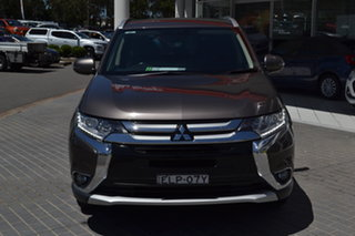 2016 Mitsubishi Outlander ZK MY16 XLS 4WD Bronze 6 Speed Constant Variable Wagon.
