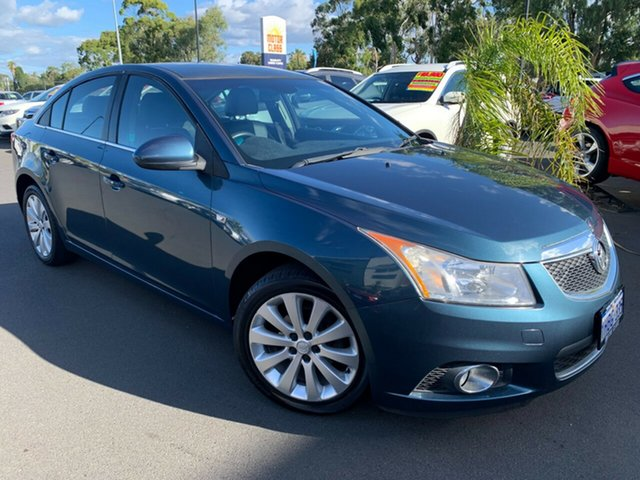 Used Holden Cruze JH Series II MY11 CDX Bunbury, 2011 Holden Cruze JH Series II MY11 CDX Blue 6 Speed Sports Automatic Sedan