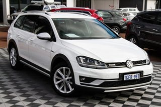 2017 Volkswagen Golf 7.5 MY17 Alltrack DSG 4MOTION 132TSI Premium White 6 Speed