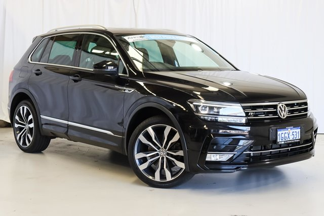 Used Volkswagen Tiguan 5N MY17 140TDI DSG 4MOTION Highline Wangara, 2017 Volkswagen Tiguan 5N MY17 140TDI DSG 4MOTION Highline Black 7 Speed