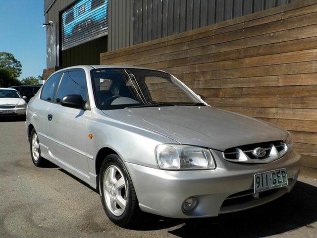 Used Hyundai Accent LC GS Labrador, 2001 Hyundai Accent LC GS Silver 4 Speed Automatic Hatchback