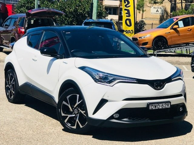 Used Toyota C-HR NGX50R Koba S-CVT AWD Liverpool, 2018 Toyota C-HR NGX50R Koba S-CVT AWD White 7 Speed Constant Variable Wagon