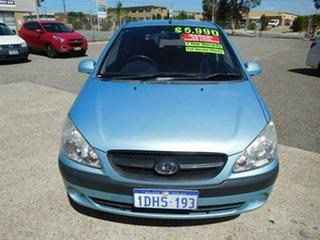 2010 Hyundai Getz TB MY09 SX Blue 5 Speed Manual Hatchback