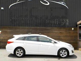 2013 Hyundai i40 VF2 Active Tourer White 6 Speed Sports Automatic Wagon.
