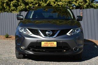 2016 Nissan Qashqai J11 TI Grey 1 Speed Constant Variable Wagon.