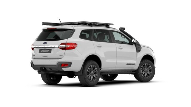 New Ford Everest UA II 2021.25MY Trend Midland, 2020 Ford Everest UA II 2021.25MY Trend Arctic White 6 Speed Sports Automatic SUV