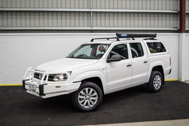 Used Volkswagen Amarok 2H MY16 TDI420 4MOTION Perm Core Canning Vale, 2016 Volkswagen Amarok 2H MY16 TDI420 4MOTION Perm Core White 8 Speed Automatic Utility