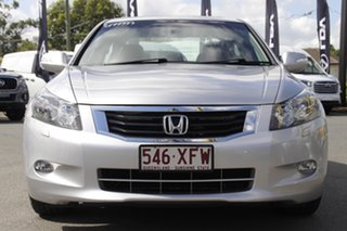 2009 Honda Accord 8th Gen V6 Luxury Alabaster Silver 5 Speed Sports Automatic Sedan