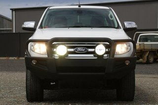 2015 Ford Ranger PX XLT Double Cab White 6 Speed Sports Automatic Utility