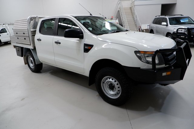 Used Ford Ranger PX XL Kenwick, 2014 Ford Ranger PX XL White 6 Speed Sports Automatic Cab Chassis