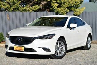 2017 Mazda 6 GL1031 Touring SKYACTIV-Drive White 6 Speed Sports Automatic Sedan.