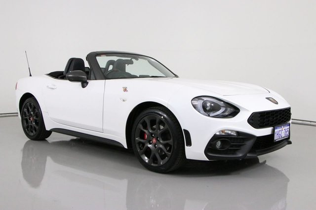 Used Abarth 124 Series 1 Spider Bentley, 2018 Abarth 124 Series 1 Spider White 6 Speed Automatic Roadster
