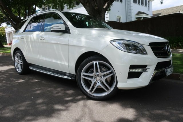 Used Mercedes-Benz M-Class W166 ML350 BlueTEC 7G-Tronic + Prospect, 2012 Mercedes-Benz M-Class W166 ML350 BlueTEC 7G-Tronic + White 7 Speed Sports Automatic Wagon