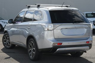 2014 Mitsubishi Outlander ZJ MY14.5 Aspire 4WD Silver 6 Speed Sports Automatic Wagon.