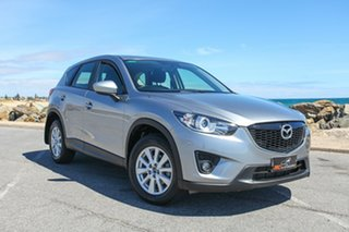2013 Mazda CX-5 KE1021 MY14 Maxx SKYACTIV-Drive AWD Sport Silver 6 Speed Sports Automatic Wagon.