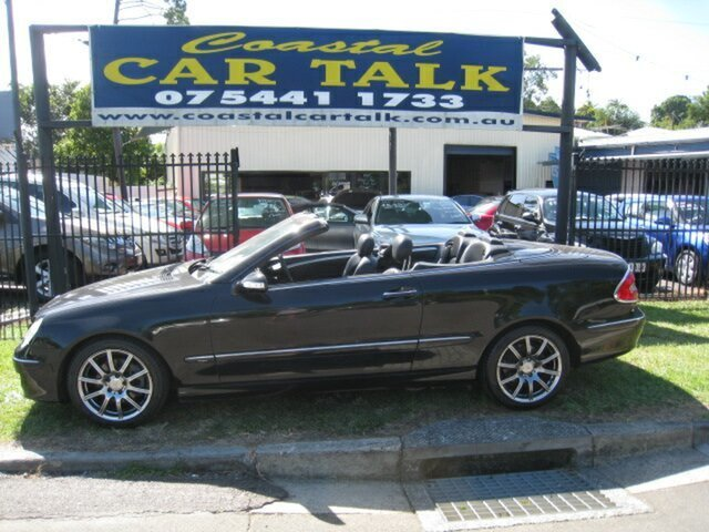 Used Mercedes-Benz CLK350 C209 07 Upgrade Avantgarde Nambour, 2007 Mercedes-Benz CLK350 C209 07 Upgrade Avantgarde Black 7 Speed Automatic G-Tronic Cabriolet