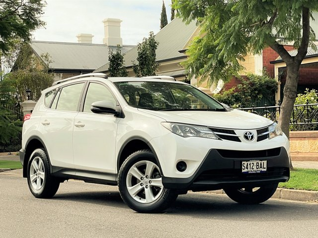 Used Toyota RAV4 ZSA42R GX 2WD Hyde Park, 2013 Toyota RAV4 ZSA42R GX 2WD White 6 Speed Manual Wagon