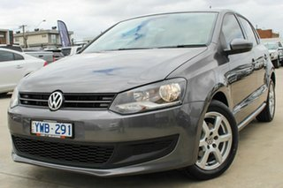 2012 Volkswagen Polo 6R MY12.5 66TDI DSG Comfortline Grey 7 Speed Sports Automatic Dual Clutch.