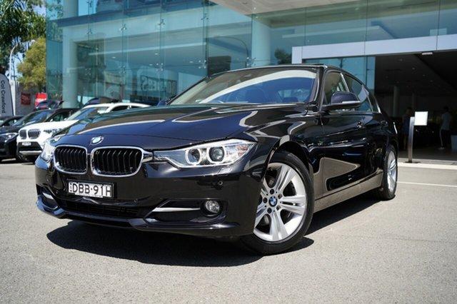 Used BMW 320d F30 MY15 Upgrade Sport Line Brookvale, 2015 BMW 320d F30 MY15 Upgrade Sport Line Black Sapphire 8 Speed Automatic Sedan