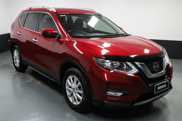 Used Nissan X-Trail T32 Series II ST-L X-tronic 2WD Cardiff, 2017 Nissan X-Trail T32 Series II ST-L X-tronic 2WD Red 7 Speed Constant Variable Wagon