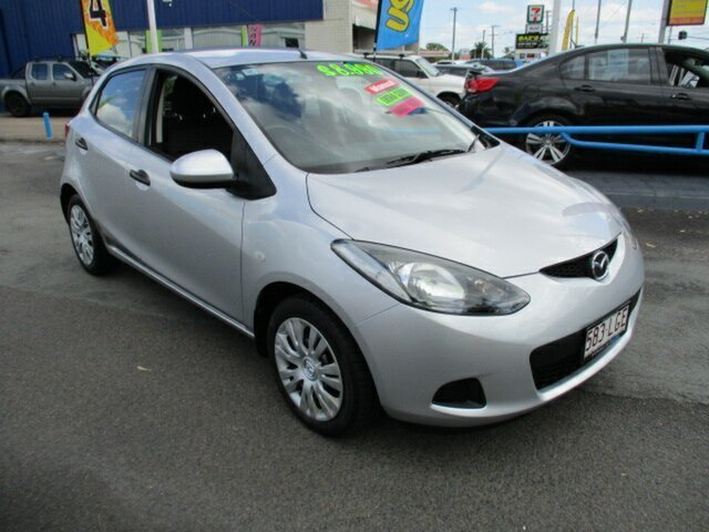 Used Mazda 2 Woodridge, 2008 Mazda 2 NEO Silver 5 Speed Manual Hatchback