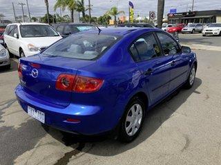 2005 Mazda 3 BK10F1 Neo Blue 4 Speed Sports Automatic Sedan