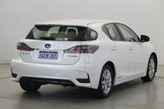 2016 Lexus CT ZWA10R MY16 CT200h Luxury White 1 Speed Constant Variable Hatchback Hybrid