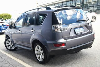 2010 Mitsubishi Outlander ZH MY10 LS Grey 6 Speed Constant Variable Wagon.