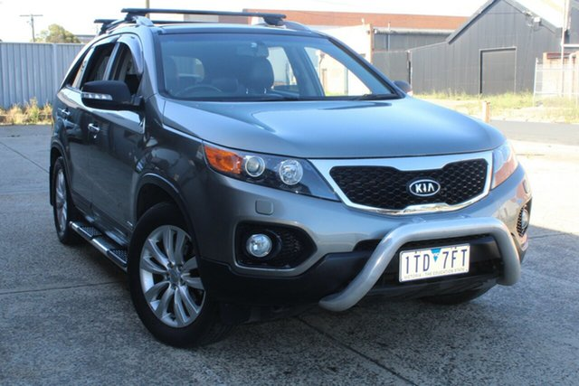 Used Kia Sorento XM MY11 Platinum (4x4) West Footscray, 2011 Kia Sorento XM MY11 Platinum (4x4) 6 Speed Automatic Wagon