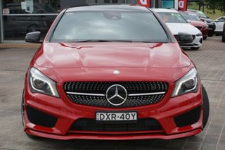 2015 Mercedes-Benz CLA-Class X117 CLA250 Shooting Brake DCT 4MATIC Sport Red 7 Speed.