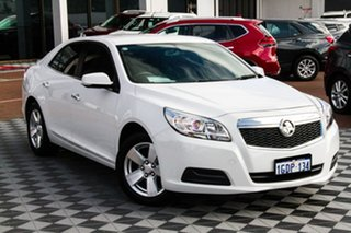 2016 Holden Malibu V300 MY15 CD Summit White 6 Speed Sports Automatic Sedan.