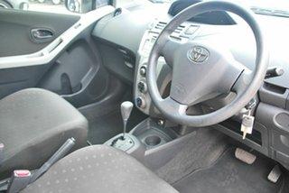 2007 Toyota Yaris NCP90R YR Blue 4 Speed Automatic Hatchback